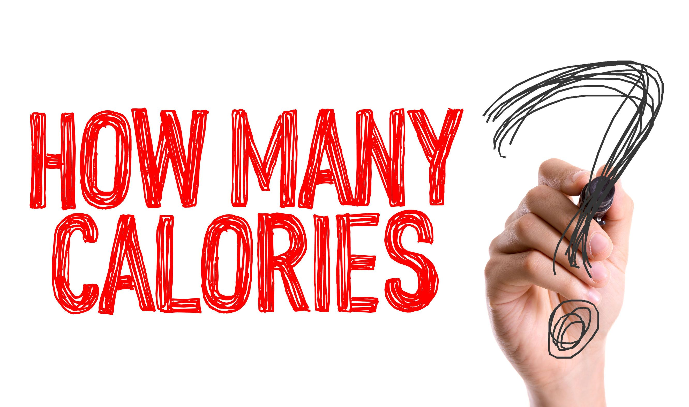 Reduce Calories you Consume
