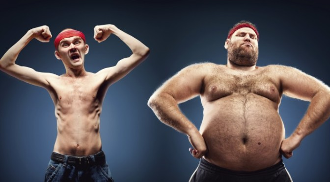 'Fat people are lazy', 'Fat people eat too much', and other such falsehoods