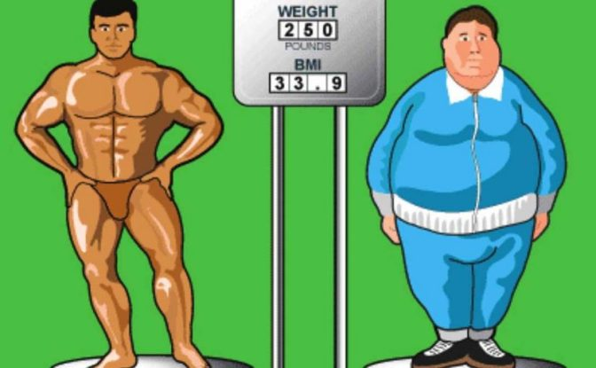 Bodyweight or BMI – which is the best metric for fitness? Neither!
